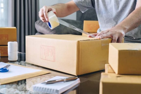 How to Launch Professional shipping and packaging Online Store